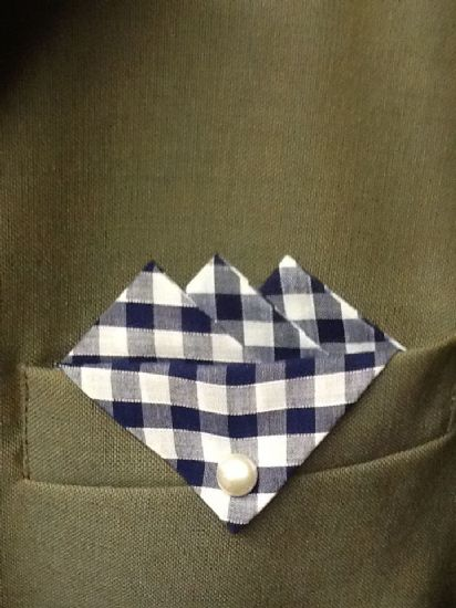 Gingham Pocket Hankies